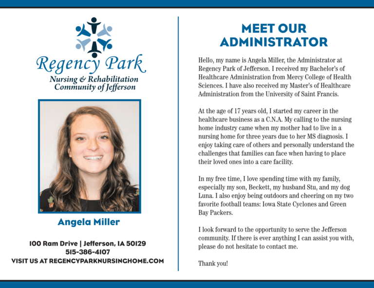 Meet our Administrator